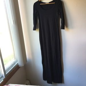 Marine Layer Maxi Dress in Black